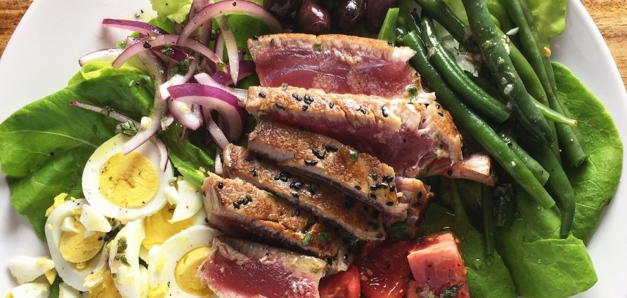 Nicoise Salad with Seared Ahi Tuna - HERO