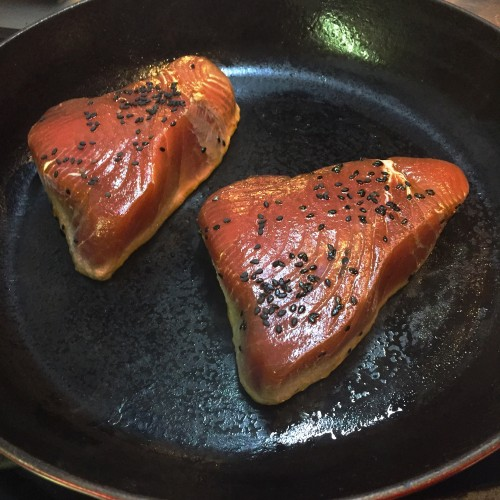 Seared Ahi Tuna_cook