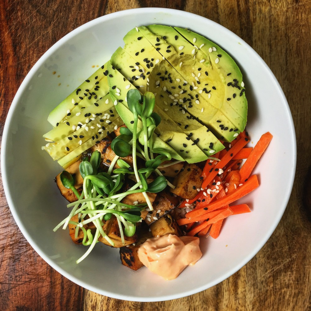 Sushi Bowl – An Adventure In Tofu