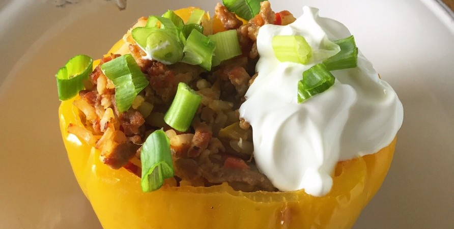 Turkey Stuffed Pepper_Hero